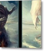 Massive Dragon - Gently Cross Your Eyes And Focus On The Middle Image Metal Print