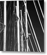 Mast Profile Metal Print