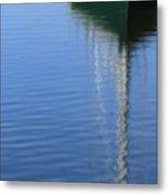 Mast Reflections Metal Print