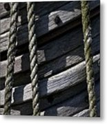 Mast Rigging Metal Print