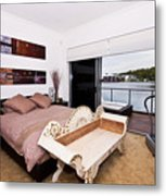 Master Bedroom With A View Metal Print