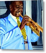 Master Of Jazz Metal Print
