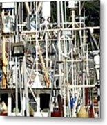 Masts 2354 Metal Print