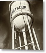 Matador Texas Water Tower Metal Print