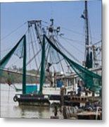 Matagorda Fishing Boats Metal Print