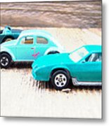 Matchbox Cars Metal Print