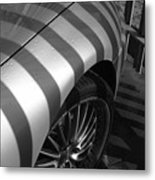 Matching Stripes Metal Print