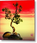 Math Pine 1 Metal Print by GuoJun Pan