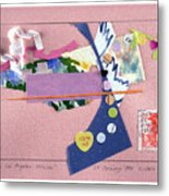 Matisse In Los Angeles Metal Print