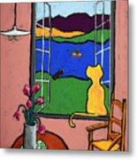 Matisse's Cat Metal Print