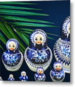 Matreshka Doll Metal Print
