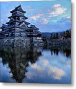Matsumoto Castle 1182 Metal Print