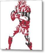 Matt Ryan Atlanta Falcons Pixel Art 5 Metal Print