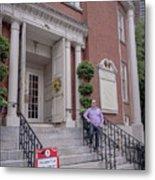 Matt V. Group At The Park Street Church In Boston, Massachusetts On August 26, 2016 Metal Print