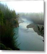 Mattole River Dawn Metal Print