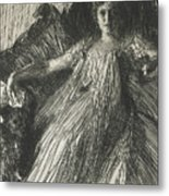 Maud Cassel Metal Print