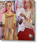 Maude And Baby Bette Metal Print