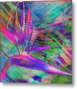 Maui Bird Of Paradise Metal Print