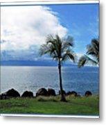 Maui Clouds Metal Print