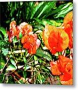Maui Floral Metal Print