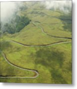 Maui Haleakala Crater Metal Print