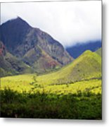 Maui Mountains Metal Print