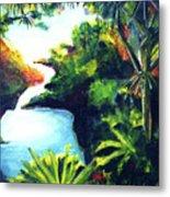 Maui Seven Sacred Falls #184 Metal Print