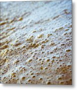 Maui Shore Bubbles Metal Print