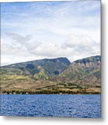 Maui - View From The Boat Metal Print