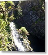 Maui Waterfall Metal Print