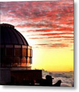 Mauna Kea Observatory Hawaii Metal Print