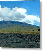 Mauna Loa Panorama Metal Print