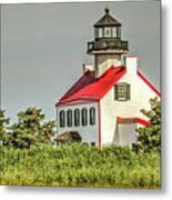 Maurice River, New Jersey, East Pointe  Lighthouse Metal Print