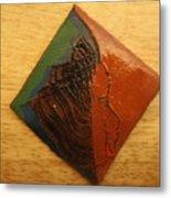 Mavis - Tile Metal Print