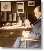 Max Planck, German Physicist Metal Print