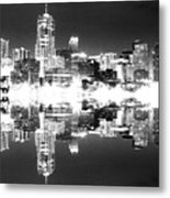 Maxed Cityscape Metal Print