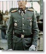 Maximilian Schell As Capt. Stransky Cross Of Iron Publicity Photo 1977 Metal Print