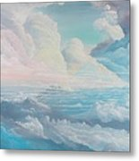 May Colored Clouds Metal Print