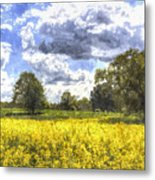 May Farm Art Metal Print