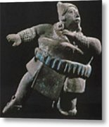 Mayan Athlete, 700-900 A.d Metal Print