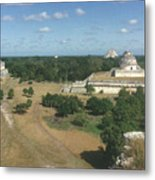 Mayan Observatory, Mexico Metal Print