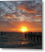 Mayan Riviera Sunrise Metal Print
