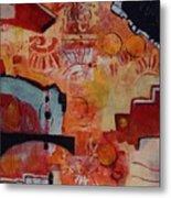 Mayan Shaman Metal Print