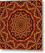 Mayan Sun God Metal Print