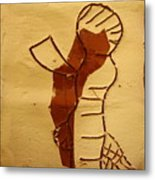 Maybe Baby Two I - Tile Metal Print
