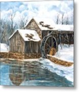 Maybry Mill Metal Print