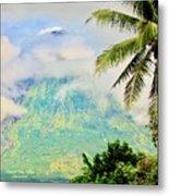 Mayon Volcano Metal Print