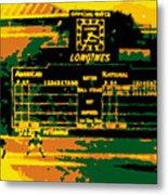 Maz World Series Homer Metal Print by Ron Regalado