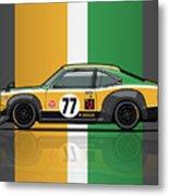 Mazda Savanna Gt Rx3 Racing Yoshimi Katayama 1975 Metal Print