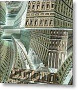 Maze Metal Print